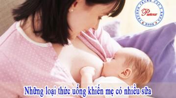 Nữ hộ sinh bật mí những thực phảm giúp mẹ có nhiều sữa hơn