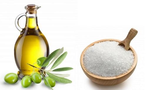 Muối trộn với dầu chữa bệnh viêm khớp hiệu quả