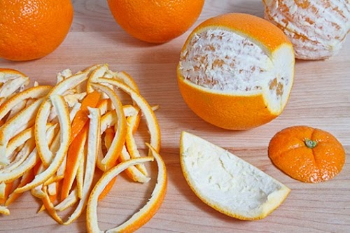 Trị mụn từ vỏ cam
