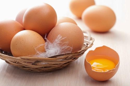 Trứng và vitamin E
