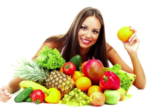 Ăn nhiều hoa quả và rau xanh