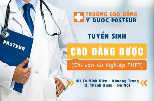 Địa chỉ nộp hồ sơ xét tuyển Cao đẳng Dược năm 2017 tại Hà Nội