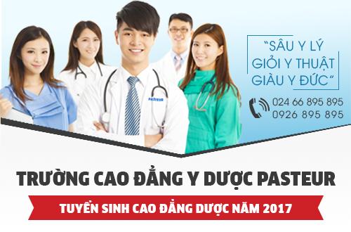 Địa chỉ nộp hồ sơ Cao đẳng Dược năm 2017 tại Hà Nội
