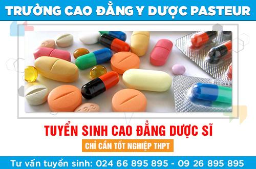 Địa chỉ nộp hồ sơ xét tuyển Cao đẳng Dược tại Hà Nội