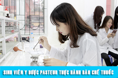 Trường Cao đẳng Y dược Pasteur chú trọng đào tạo thực hành