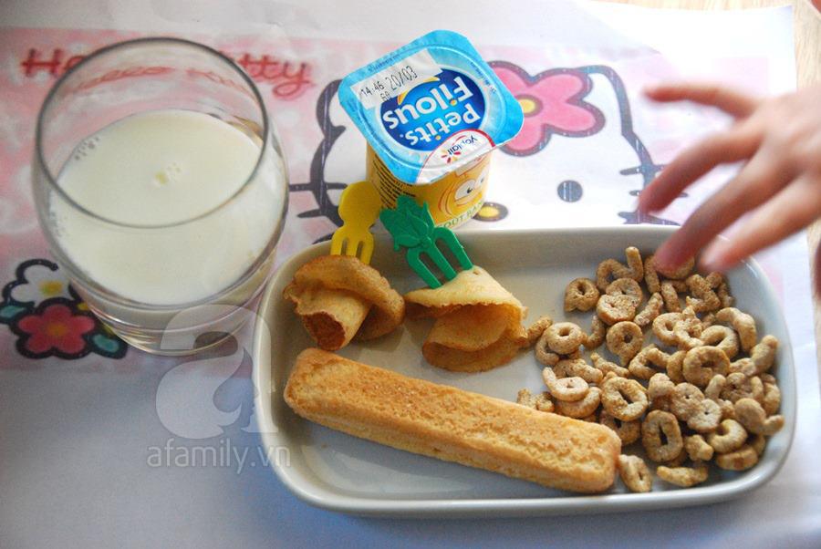 Bữa sáng của trẻ