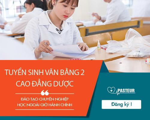 Hướng dẫn xét tuyển Văn bằng 2 của trường cao đẳng Y dược Pasteur
