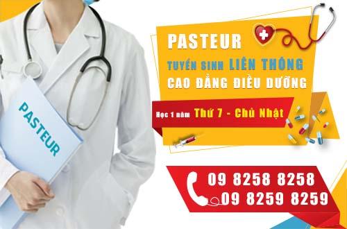 Trường Cao đẳng Y Dược Pasteur đào tạo liên thông Cao đẳng Y Dược chất lượng nhất