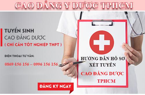 Tuyển sinh Cao đẳng Dược chỉ cần tốt nghiệp THPT
