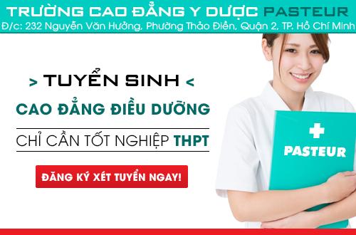 Hồ sơ tuyển sinh cao đẳng Điều dưỡng năm 2018