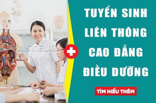 Liên thông từ Trung cấp Hộ sinh lên Cao đẳng Điều dưỡng năm 2018