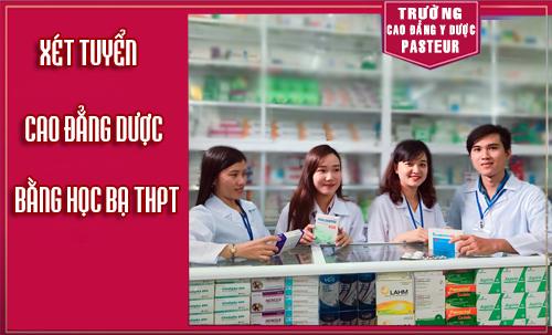 Xét tuyển Cao đẳng Dược TPHCM 2017