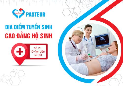 Địa chỉ tuyển sinh Cao đẳng Hộ sinh tại Hà Nội