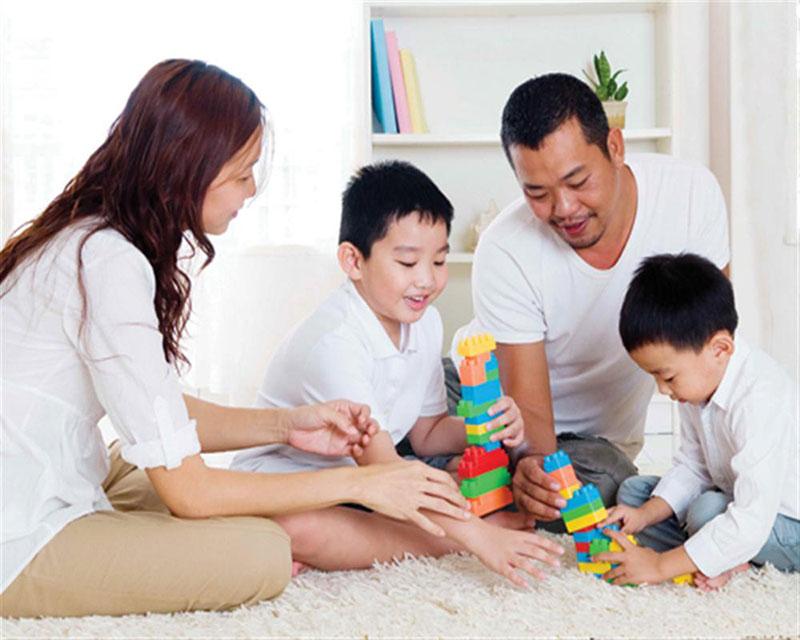 Gia đình hạnh phúc không thể cách nuôi dạy con hợp lý nhất