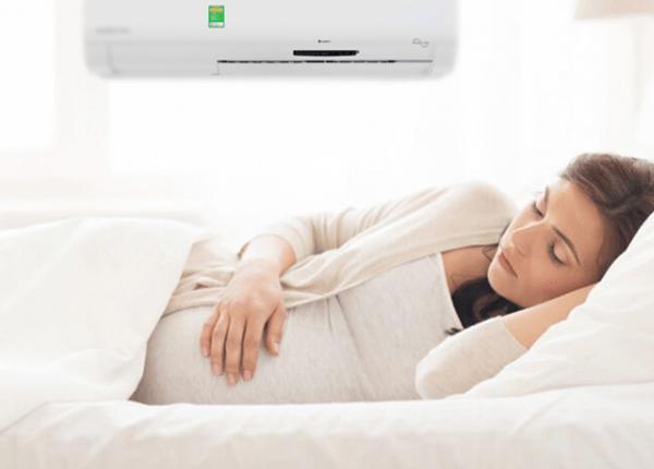 Nhiệt độ tốt nhất cho bà mẹ mang thai là khoảng 26 – 28 độ